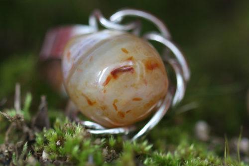 anello con corniola