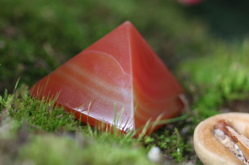 piramide di corniola
